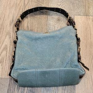 Coach Chelsea Tote Bag 10959 Mineral Blue RARE!